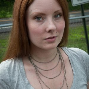 Kitty Ostapowicz (Danielle) on the first day of shooting. 6/20