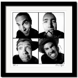 Red Hot Chili Peppers by Chris Cuffaro