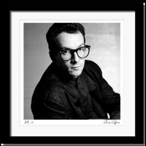 Elvis Costello by Chris Cuffaro