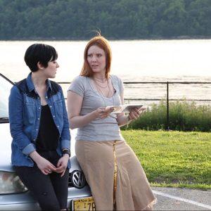 Kitty Ostapowicz (Danielle) and Tara Cioletti (Astra) running through the film's final scene. 6/20