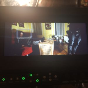 """Our """"martini"""" (last set up of the day) for January 17th. A key scene featuring Sarah Schoofs."""