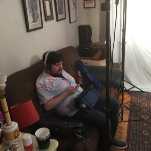 Matt Gershowitz ran sound for us on the final day of shooting.